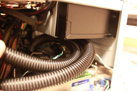 SG-06水冷化_クーラーコア取付状況2