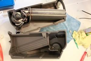 20150510洗濯機ヒートポンプ部の分解清掃15_エバポレータ-コンデンサ組付.jpg