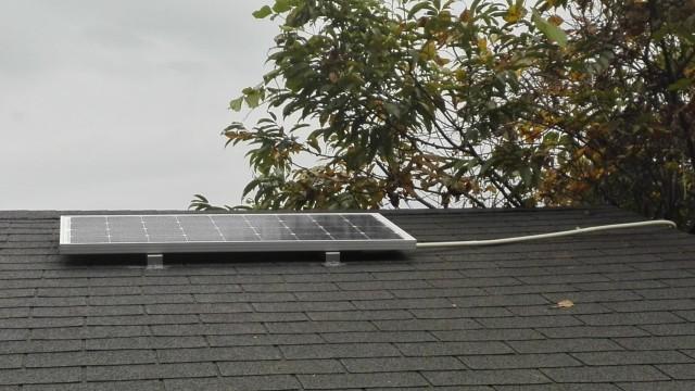 2015-1107太陽光発電-太陽光パネル取付1