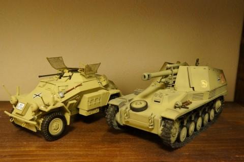 ALAN Sd.Kfz.124 WESPE-6完成3